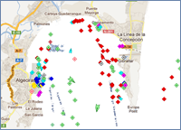 Live Marine Traffic Map - Gibraltar